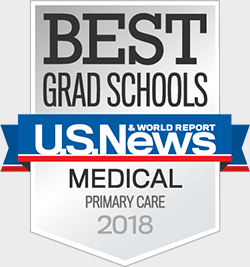 U.S. News and World Report Best Medical Schools: Primary Care 2018