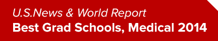 U.S. News and World Report Best Grad Schools, Medical 2014